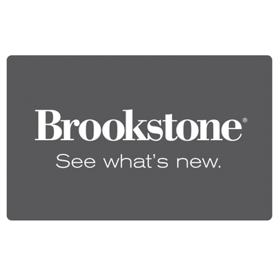 BROOKSTONE<sup>&reg;</sup> $25 Gift Card - Ensure the perfect gift for everyone on your list with the Brookstone® gift card.  Use towards any item in our Brookstone collection: online, through our catalogs, or at more than 225 stores nationwide.