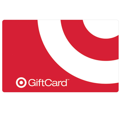 TARGET<sup>®</sup> $25 Gift Card - From home décor, small appliances and electronics to fashion, accessories and music, find exactly what you're looking for at Target. No fees. No expiration. No kidding.<sup>®</sup>